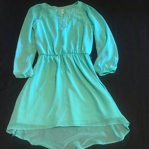 GB girls Green Dress